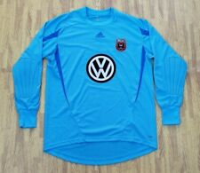 DC United Volkswagen Long Sleeve MLS Adidas ClimaLite Jersey ~ Men's Large L