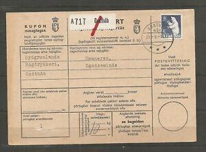 GREENLAND - Address card from Godthåb 21/9-1971. See items description