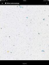 ACRYLIC SQUARE EDGE WORKTOPS WHITE ANDROMENA 3 Mtr X 600 X 38mm