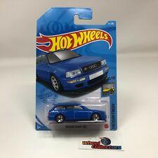'94 Audi Avant RS2 #157 * BLUE * 2021 Hot Wheels Case H * HG18