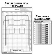 Pre Registration Template Transparency Amp Exposure Calculator Screen Printing
