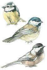 Chickadees / Birds Cutouts Wallies 12240