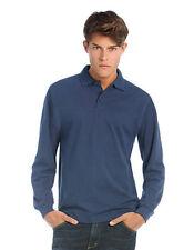 Camisas y polos de hombre de manga larga de color principal negro talla XL