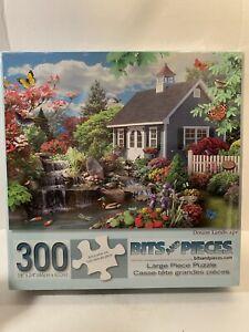 "DREAM LANDSCAPE 300 BITS AND PIECES PUZZLE 18"" x 24"" ALAN GIANA POND"