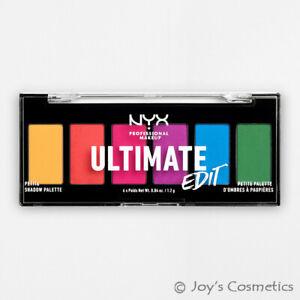 "1 NYX Ultimate Edit Petite Shadow Palette "" USPP02 - Brights "" Joy's cosmetics"