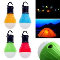 Hanging LED Camping Tent Light Bulb Fishing Lantern Lamp Outdoor Accessories BG