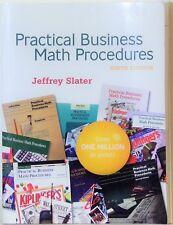 Practical Business Math Procedures - 9th edition - Jeffrey Slater - 2008