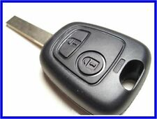 NEW 2 BUTTON UNCUT REMOTE KEY FOB for PEUGEOT 307, ID46 chip, 433Mhz