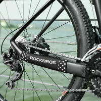Rockbros Bike Chain Chainstay Guard Protector Stay Rear Fork Guard Cover 2PCS