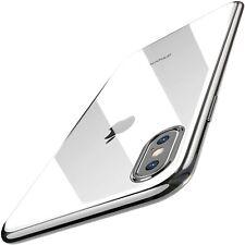 iPhone XS Max Case Premium Soft TPU Gel Ultra Thin Transparent Flexible Cover