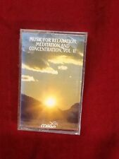 Music For Relaxation Meditation And Concentration Cassette