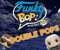 Funky Bops: Mystery Pop! (Chase + Grails + Excl. + Commons) Box of Two Funkos!