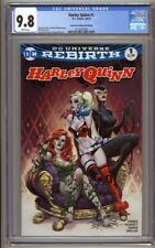 Harley Quinn #1 Comic Hero University Edition CGC 9.8 Joe Benitez Cover Highest
