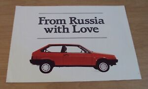 """VTG ADVERTISING Brochure~""""FROM RUSSIA with LOVE""""~Samara Automobile~LADA~"""