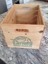 Big Sky Carvers Wood Crate Manhatten Montana