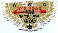 Boy Scout OA 138 Ta Tsu Hwa Lodge 2018 NOAC Gold Bird Flap