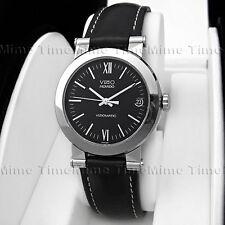 Men's Movado VIZIO Viziomatic Autoquartz Tungsten Carbide Black Date Swiss Watch