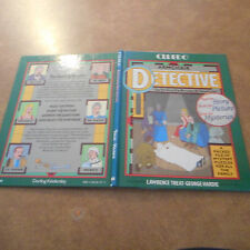 CLUEDO ARMCHAIR DETECTIVE game book Mystery solving MURDER 1st HC Scarlet Green