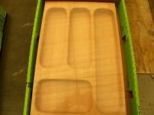 Portaposate massello faggio  per cassetto cm 40  essetre cod GC400414