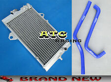 Aluminum Radiator & Hose For Yamaha Raptor YFM700 YFM700R 2006-2012 08 09 10 11