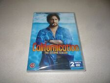 CALIFORNICATION : THE SECOND SEASON  (DVD,2008) 2 DISC BRAND NEW AND SEALED