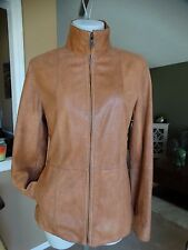 BUTTERY SOFT LEATHER JACKET FROM ANDREW MARC MEDIUM
