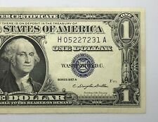 1957 Silver Certificate 1$ Dollar Note Uncirculated (P221)