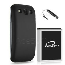 7570mAh Extended Battery Black Cover For Samsung Galaxy S3 i535 i747 L710 T999