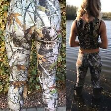 Hunting Pattern Camo Leggings Brand New One Size 6-16