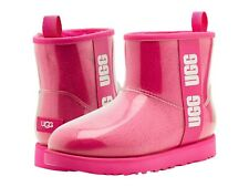 Women's Shoes UGG CLASSIC CLEAR MINI Waterproof Ankle Boots 1113190 ROCK ROSE