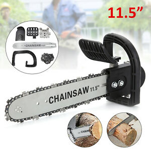 DIY Electric Chainsaw Transfer 11.5'' Grinder Conversion Head Tree Bracket Kit