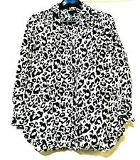 Divided By H&M leopard Print Longsleeve Shirt