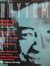 RHYTHM MAGAZINE DEC 1990 - NEVILLE BROTHERS - LOOSE TUBES