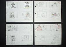Signed Friz Freleng Pink Panther Storyboard Set 14 1967