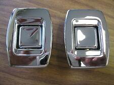 1969 70 71 72 SKYLARK GS 455 NEW PAIR OF CHROME BUCKET SEAT BACK LOCKS