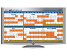 2012 NEW YORK METS MAGNETIC SCHEDULE OPENING DAY SGA 4/5