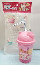 Sanrio  Hello Kitty  Cup + Lid + Straw, 1 pcs Japan Limit