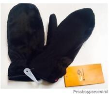 New C9 Champion Venture Warm & Duo Dry Girls' Black Fleece Mittens, Size 8/16
