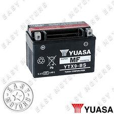 BATTERIA YUASA YTX9-BS PIAGGIO VESPA ET4 125 2000>2004
