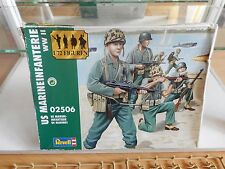 Modelkit Revell US Marine Infantrie WWII on 1:72 in Box