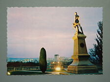 R&L Postcard: Adelaide, Lights Vision from Montefiore Hl Nu-Color-Vue Australia