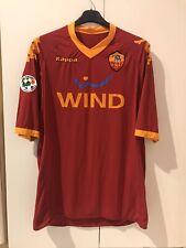 Maglia Calcio AS Roma Shirt 2009-10 Kappa Italia Wind Serie A