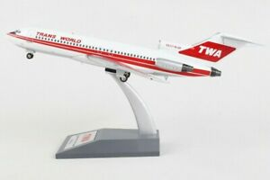 INFLIGHT 200 IF721TW1219 1/200 TRANS WORLD AIRLINES B727-31 REG: N831TW W/STAND