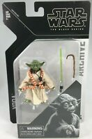 """YODA STAR WARS THE BLACK SERIES ARCHIVE 6"""" ACTION FIGURE HASBRO ARCHIVE SEALED"""