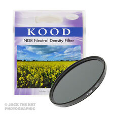 Kood 58mm 0.9 Neutral Density ND8 Filter. -3 Stop. Slim Frame. Quality Glass.