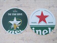 Beer Coaster    HEINEKEN Brewery ~*~ Open Your World    The Star Cricket Serve
