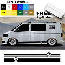 VW Volkswagen Transporter T4 T5 Camper Van Stripes Stickers Graphics Decals Viny