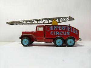 Corgi Major International 6X6 Truck CHIPPERFIELDS CIRCUS Crane a/f PLAY WORN