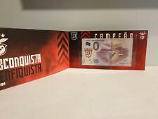Encart Billet Touristique Euro Souvenir Schein Sport Lisboa Benfica