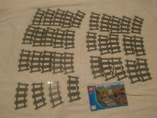 Lego City 9v Train Track Rail x32 Corner Curved Bend Railway 4279717 NEW
